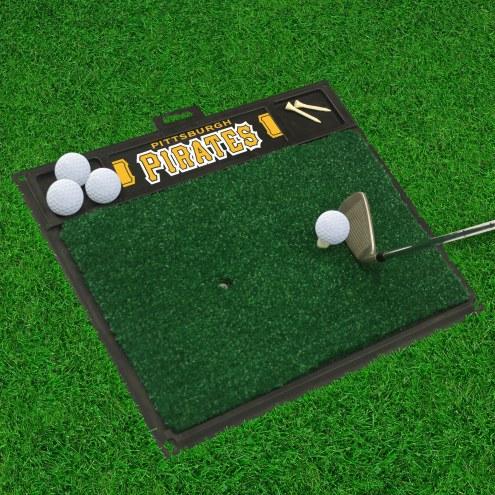 Pittsburgh Pirates Golf Hitting Mat