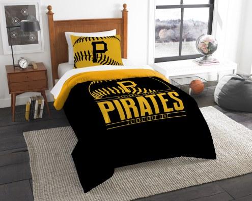 Pittsburgh Pirates Grand Slam Twin Comforter Set