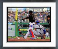 Pittsburgh Pirates Gregory Polanco 1st MLB Hit Framed Photo