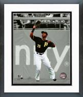 Pittsburgh Pirates Gregory Polanco 2015 Spotlight Action Framed Photo