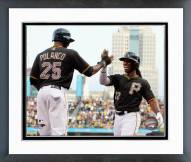 Pittsburgh Pirates Gregory Polanco & Andrew McCutchen 2014 Framed Photo