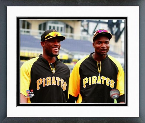 Pittsburgh Pirates Gregory Polanco & Starling Marte Framed Photo