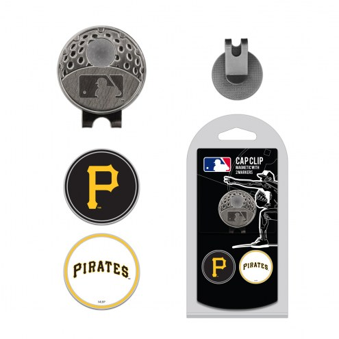 Pittsburgh Pirates Hat Clip & Marker Set