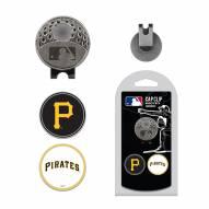 Pittsburgh Pirates Hat Clip & Marker Set