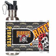 Pittsburgh Pirates Hi-Def Stainless Steel Water Bottle
