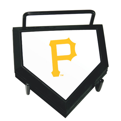 Pittsburgh Pirates Home Plate Coaster Set