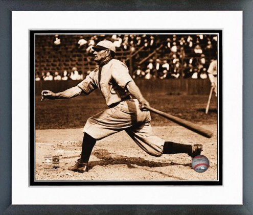 Pittsburgh Pirates Honus Wagner Batting Framed Photo