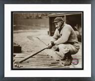 Pittsburgh Pirates Honus Wagner In Dugout Framed Photo