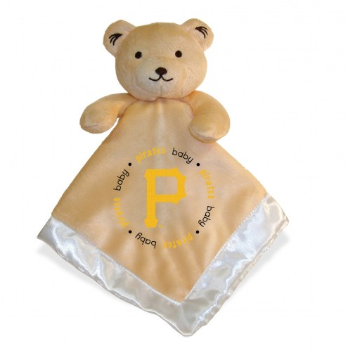 Pittsburgh Pirates Infant Bear Security Blanket