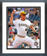 Pittsburgh Pirates Jared Hughes Action Framed Photo