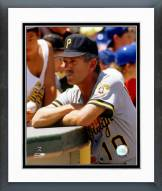 Pittsburgh Pirates Jim Leyland Action Framed Photo