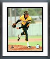 Pittsburgh Pirates John Candelaria Pitching Framed Photo