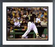 Pittsburgh Pirates Josh Harrison 2014 Action Framed Photo