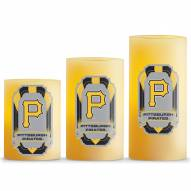Pittsburgh Pirates LED Light Candle Set