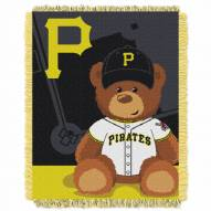 Pittsburgh Pirates MLB Baby Blanket