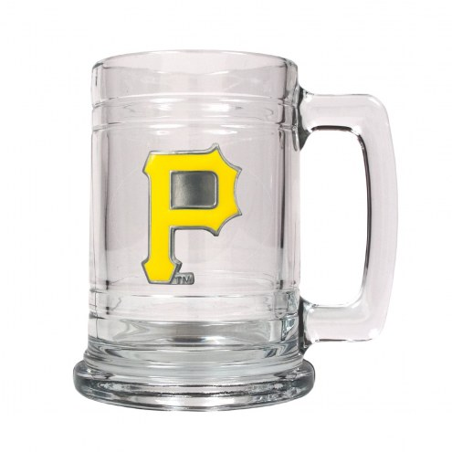 Pittsburgh Pirates MLB 2-Piece Glass Tankard Beer Mug Set