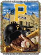Pittsburgh Pirates MLB Woven Tapestry Throw Blanket