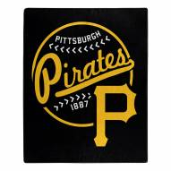 Pittsburgh Pirates Moonshot Raschel Throw Blanket