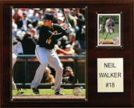 "Pittsburgh Pirates Neil Walker 12"" x 15"" Player Plaque"