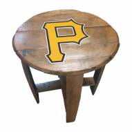 Pittsburgh Pirates Oak Barrel Table