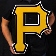 "Pittsburgh Pirates P 24"" Steel Logo Sign"
