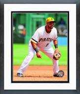 Pittsburgh Pirates Pedro Alvarez 2014 Action Framed Photo