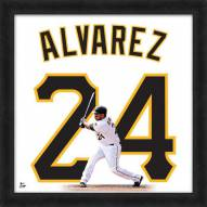 Pittsburgh Pirates Pedro Alvarez Uniframe Framed Jersey Photo