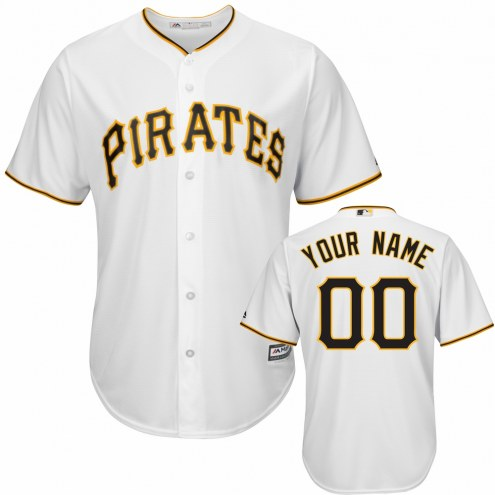 Pittsburgh Pirates Personalized Replica Home Baseball Jersey