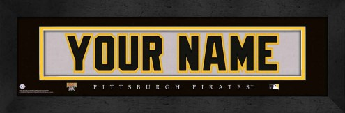 Pittsburgh Pirates Personalized Stitched Jersey Print