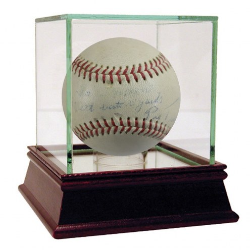 Pittsburgh Pirates Pie Traynor Single Signed ONL Giles Baseball