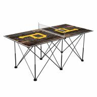 Pittsburgh Pirates Pop Up 6' Ping Pong Table