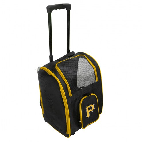 Pittsburgh Pirates Premium Pet Carrier with Wheels