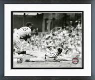 Pittsburgh Pirates Ralph Kiner 1950 Action Framed Photo