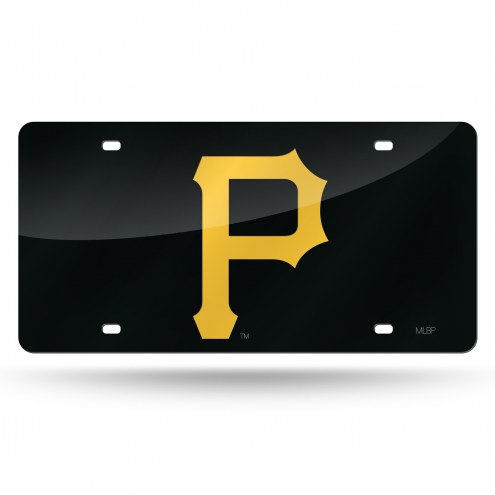 Pittsburgh Pirates Laser Cut License Plate