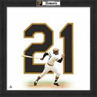 Pittsburgh Pirates Roberto Clemente Uniframe Framed Jersey Photo
