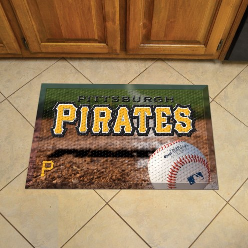 Pittsburgh Pirates Scraper Door Mat