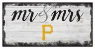 Pittsburgh Pirates Script Mr. & Mrs. Sign