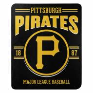Pittsburgh Pirates Southpaw Fleece Blanket