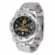 Pittsburgh Pirates Sport Steel AnoChrome Men's Watch