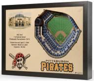 Pittsburgh Pirates 25-Layer StadiumViews 3D Wall Art