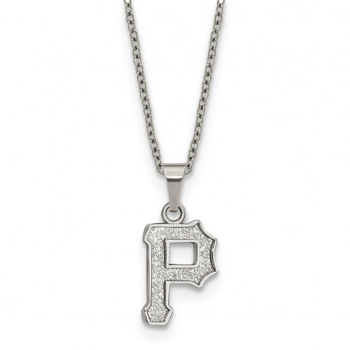 Pittsburgh Pirates Stainless Steel Pendant Necklace