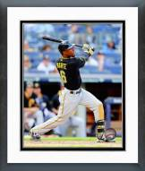 Pittsburgh Pirates Starling Marte Action Framed Photo