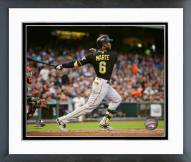 Pittsburgh Pirates Starling Marte 2015 Action Framed Photo