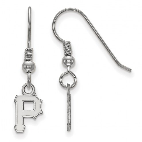 Pittsburgh Pirates Sterling Silver Extra Small Dangle Earrings