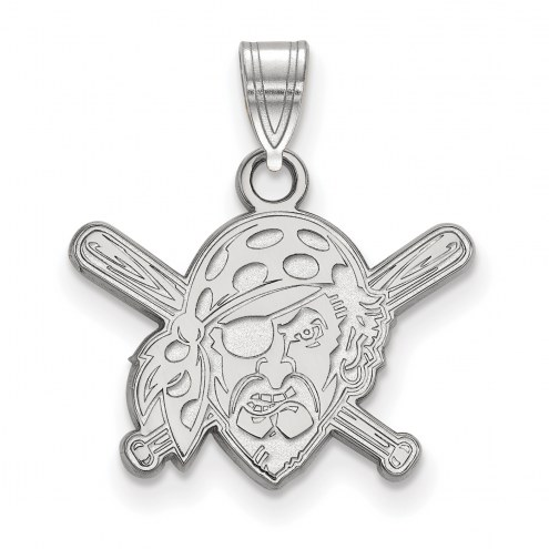 Pittsburgh Pirates Sterling Silver Small Pendant