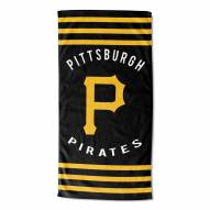 Pittsburgh Pirates Stripes Beach Towel