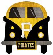 Pittsburgh Pirates Team Bus Sign
