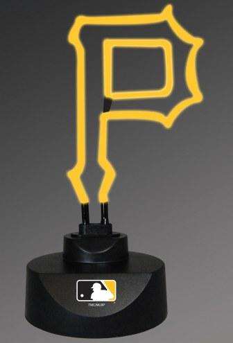 Pittsburgh Pirates Team Logo Neon Lamp