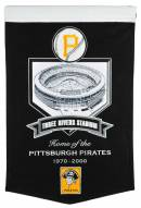 Pittsburgh Pirates Three Rivers Stadium Banner