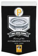 Pittsburgh Pirates Three Rivers Stadium Banner